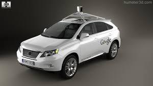 lexus wagon 2012 360 view of lexus rx google self driving 2013 3d model hum3d store