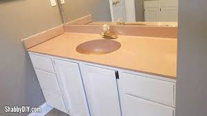 Renew Your Old Bathroom Vanity Counter With Rustoleum Countertop - Bathroom vanity counter top 2