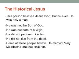 Seeking Not Married Whom Are You Seeking 18 4 The Mythological Jesus Those Who
