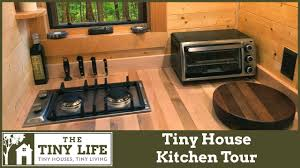 Tiny House Kitchen Appliances by Tiny House Kitchen Tour Youtube