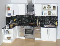 dolls house kitchen furniture white doll house kitchen 1 12th i ve added a matching spla flickr