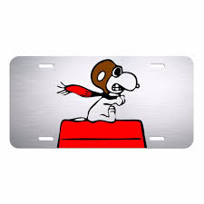 Snoopy Flags Snoopy License Plate Ebay
