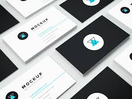 business cards psd mockup isometric business card mockup vol 3 graphberry
