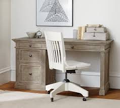 Small Desk With Chair Livingston Small Desk Pottery Barn