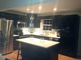 kitchen backsplash with dark cabinets paint colors oak glossywhite
