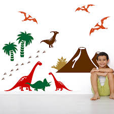 dinosaur wall stickers dinosaur wall sticker pack baby s room