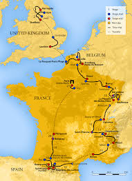 France Map Cities by 2014 Tour De France Wikipedia