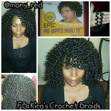crochet braids atlanta client used 5 packs of pre dipped marley s crochet