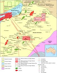 dampier sub basin offshore petroleum exploration acreage release
