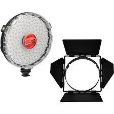 rotolight neo on led light kit with barndoors