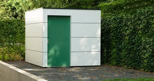 gartenhaus design flachdach design gartenhaus moderne gartenhäuser schicke gartensauna auch