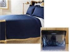 Navy Quilted Coverlet Ralph Lauren Solid Pattern Quilts Bedspreads U0026 Coverlets Ebay