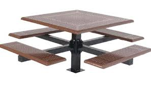 Commercial Picnic Tables by Square Thermoplastic Picnic Tables Playground Equipment For