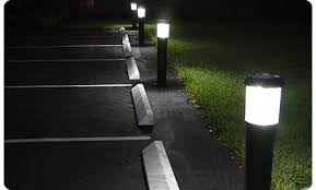 commercial solar lighting for parking lots commercial lighting commercial lighting concrete bollards uk