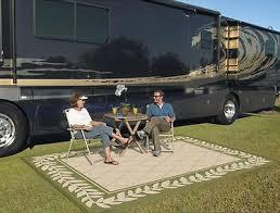 Camping Patio Mats by Patio Mat Indoor Outdoor Rv 9 U0027x 12 U0027 Reversible Picnic Rug Camping