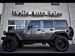 jeep wrangler grey 2017 custom jeeps for sale near warrenton va lifted jeeps for sale in