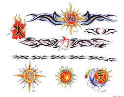 tribal armband tattoos henna tatoo designs