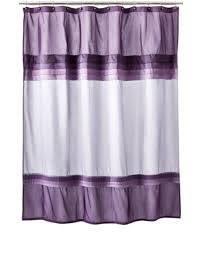 purple shower curtain dream bathroom pinterest purple rooms