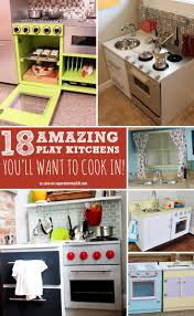 18 diy play kitchens so amazing you u0027ll want to cook in them
