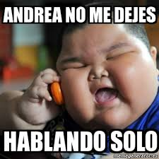Meme Andrea - meme fat chinese kid andrea no me dejes hablando solo 4799284