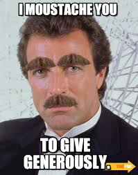 Meme Moustache - i moustache you moustache meme on memegen