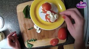 cuisiner un hamburger entrée comment cuisiner un hamburger tomates mozzarella pratiks
