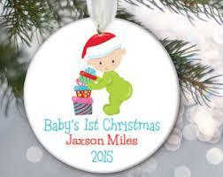 baby ornament etsy