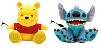 spluch cute winnie pooh speakers