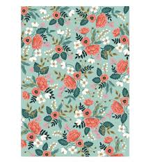 wrapping papers floral summer bouquet wrapping paper set of three by baby