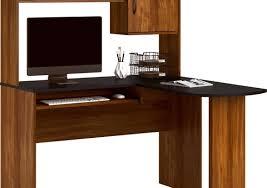 l shaped desk with hutch left return desk stunning small l shaped desk with hutch bestar delta