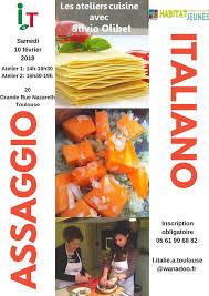 atelier cuisine toulouse non classé l italie à toulouse
