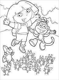 21 dora coloring pages u2013 free printable word pdf png jpeg eps