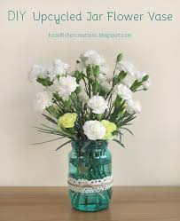 How To Decorate Flower Vase How To Upcycle Everyday Items Into Cute Flower Vases