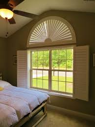 Arch Window Blinds That Open And Close 70 Best Arched Plantation Shutters Images On Pinterest