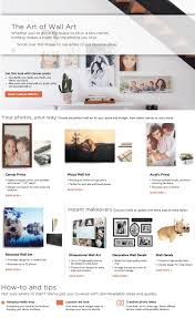 shutterfly wall art guide u2013 copywriting services and fashion