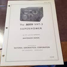 narco vht 3 superhomer operation install service u0026 parts manual