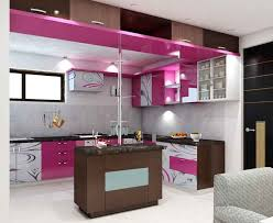 Simple  Kitchen  Interior  Design For BHK House - Simple kitchen interior