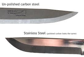 High Carbon Stainless Steel Kitchen Knives by Carbon U0026 Stainless Steel Differences Greenman Bushcraft