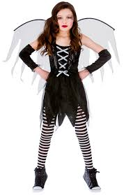 halloween girls fancy dress up horror vampire fairy scary kids