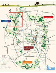 San Antonio Texas Map Map Of The Howard W Peak Greenway Trails System