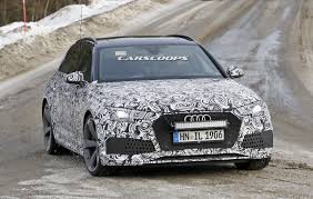 2018 audi rs4 avant is about to return in all its fender flared glory