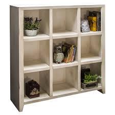White Cube Bookcase by Legends Furniture Calistoga 9 Cube Bookcase Hayneedle