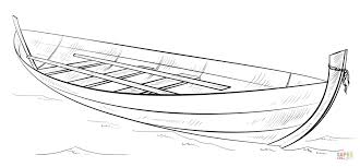 rowing boat coloring page free printable coloring pages