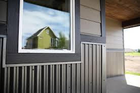 rezibond as a wainscot exterior house ideas pinterest steel