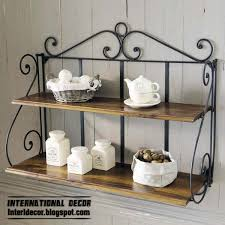 Wrought Iron Bathroom Shelves Wrought Iron Furniture Cool Ideas For Different Rooms Home