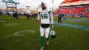 Saskatchewan Flag Canadian Quarterback Brandon Bridge Returning To Saskatchewan