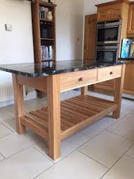 bespoke kitchen island in solid oak gillmartinez com