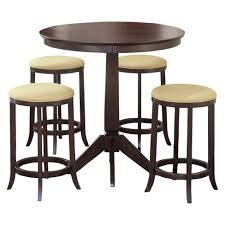 tiburon 5 pc dining table set 5 piece tiburon bistro table hillsdale furniture target