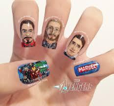 glitterfinger lexa nail nails nailart comics themed nails