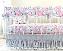 Grey And Pink Baby Bedding Sets Bedding Set Unusual Pink Grey Baby